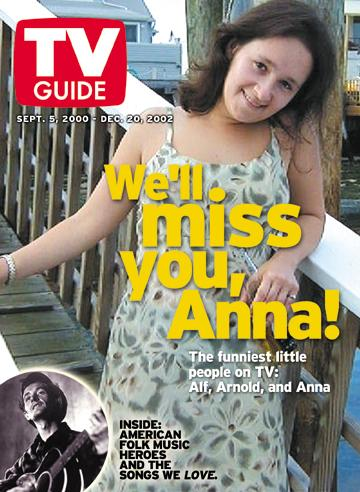 Anna Canoni received this as a going away present from TV Guide